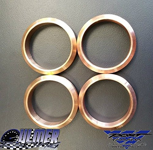 Ulmer Racing Yamaha Snowmobile Copper Exhaust Gasket Set for Apex, Attak, RX-1 by Yamaha