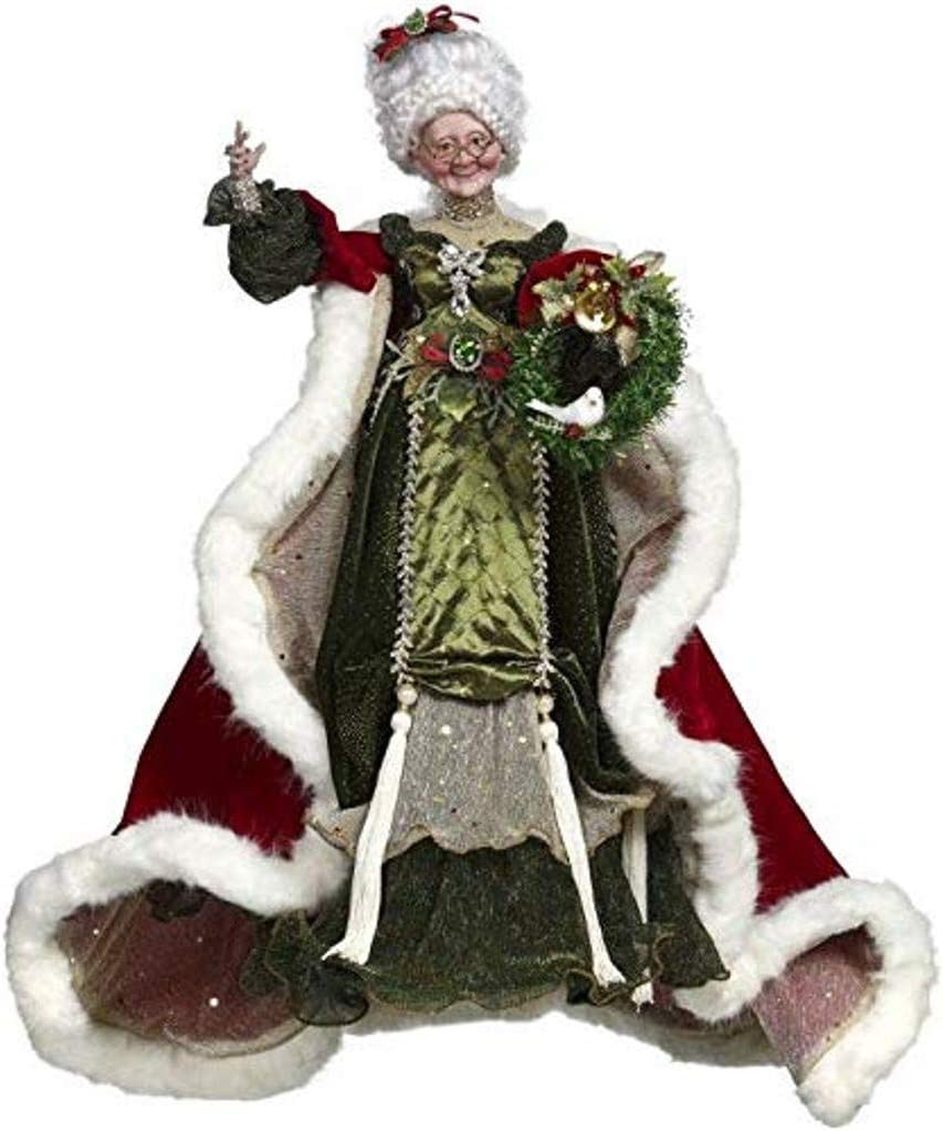 Bejeweled Mrs Claus