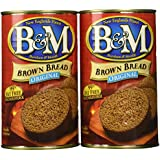 B&M® Brown Bread Plain, 16 oz (Pack of 2)