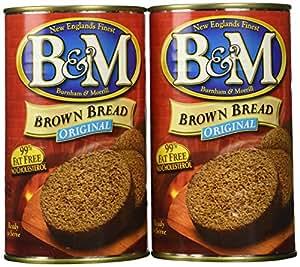 B&M® Brown Bread Plain, 16 oz (Pack of 2)