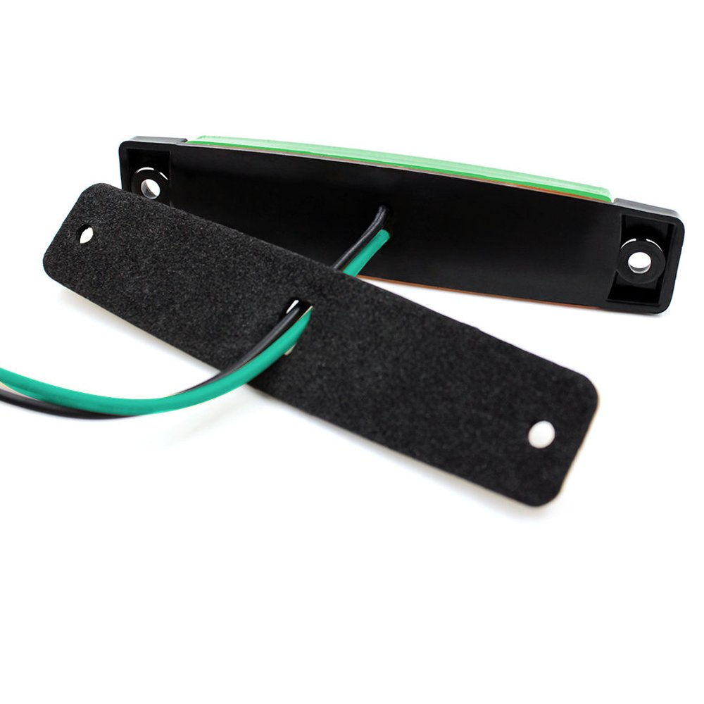Verde VIGORFLYRUN PARTS LTD 10x 6 LED 3.8 Luces Laterales del Marcador Luz de G/álibo para 24V Remolque Camioneta Caravana Cami/ón Cami/ón Autob/ús SUV