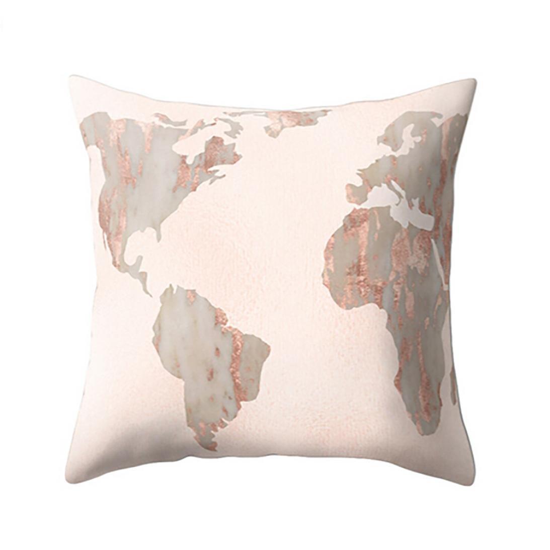 samlike kissenbezug, marbre Texture géométrique Coussin décoratif cas housse de coussin canapé Home Decor A