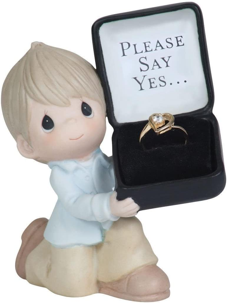 Precious Moments for The One I Love – Please Say Yes Figurine