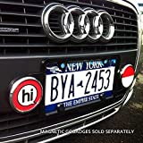 GoBadges MS009 Magnetic License Plate Badge Holder