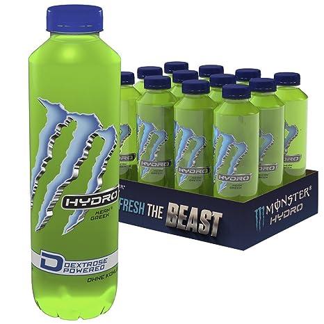 Monster Energy Hydro Mean Green PET Einweg, 12er Pack (12 x 550 ml ...