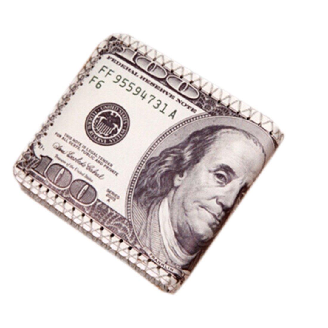 Wallet,toraway Creative Us Dollar Bill Billfold Wallet Leather Wallet Purses