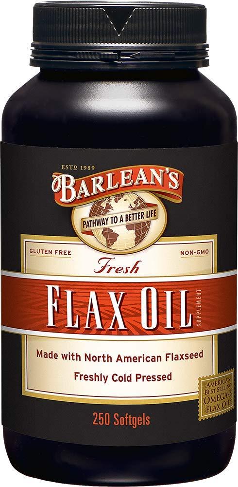 Pure Flax Oil 1000 mg. 250 Sgels