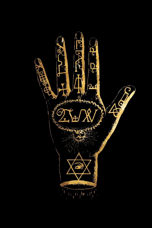Amazon com: The Magic Hand: Sigils - Magical Journal - Black and