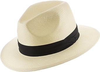 67a34836bf24 Ultrafino Monte Cristo Straw Fedora Panama Hat