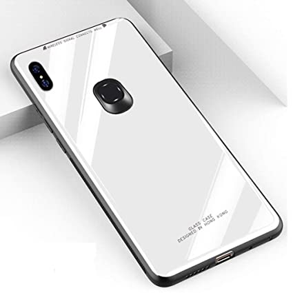 new product 27adb bf3a6 WPRIE Back Case Cover: Toughened Shockproof TPU Bumper Glass Back Case for  Xiaomi Redmi Note 5