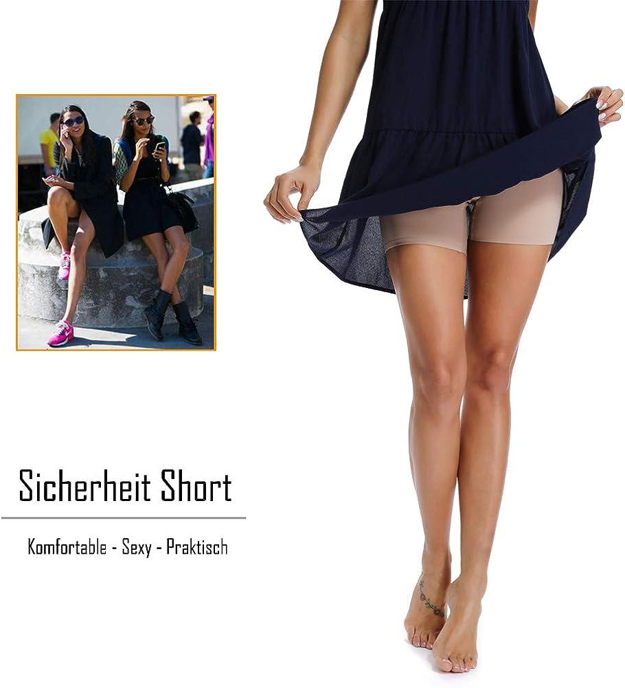 Kurze Leggings Unter Kleid