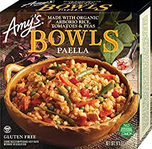 Amy's Bowls, Santa Fe Bean & Vegetable Enchilada, 10 oz (Frozen)