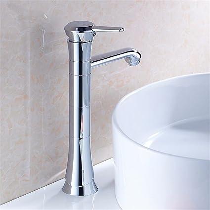 LHbox Basin Mixer Tap Bathroom Sink Faucet The Bathroom Basin Wash Basin  Cold Water Tap Basin