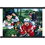 """Inuyasha Anime Fabric Wall Scroll Poster (32"""" x 23"""") Inches"""