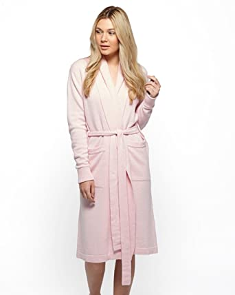 Cashmere Merino Dressing Gown at Amazon Women\'s Clothing store: