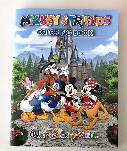 (Walt Disney World Mickey Friends Coloring Book)