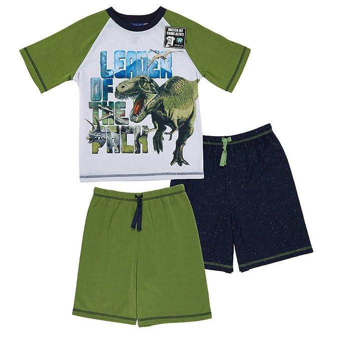49c239079012 Amazon.com  St. Eve Boys Dinosaur 3 pc Sleepwear Set