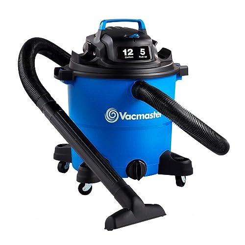 Vacmaster Vacmaster-12 Gal. Wet Dry Vacuum 5 HP 2-1 2 Hose VOC1210PF , Blue