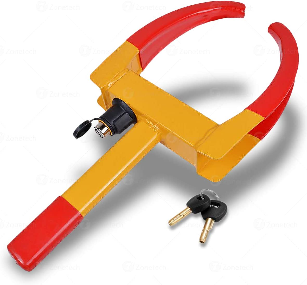Zone Tech Wheel Lock Security Tire Clamp