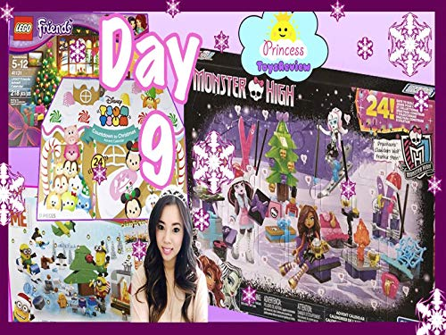 Clip: Surprise Toys Advent Calendar with Princess ToysReview Day 9 (M Countdown Christmas Special)