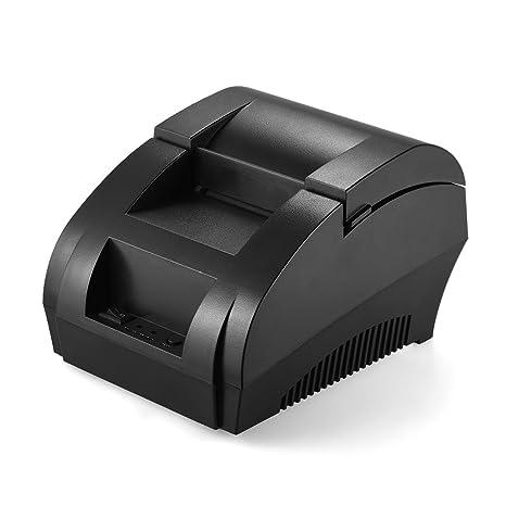 Amazon.com: Docooler Thermal Printer, POS-5890K 58mm USB ...