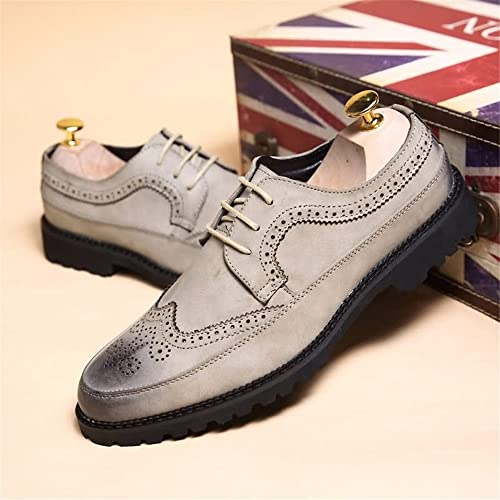 Tacón Herramientas Hombres Zapatos Los Oxford De Plano Ocio Yb7f6yg