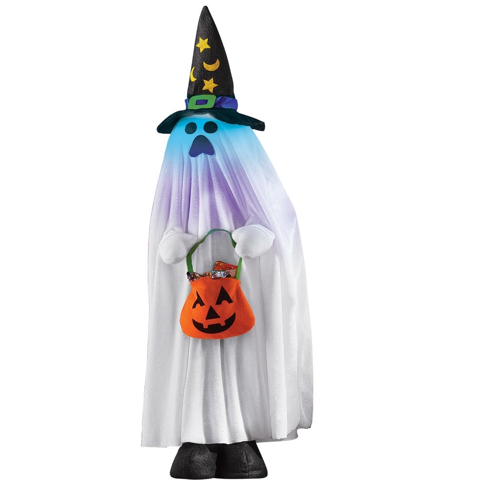 amazoncom lighted halloween character decorations ghost patio lawn garden