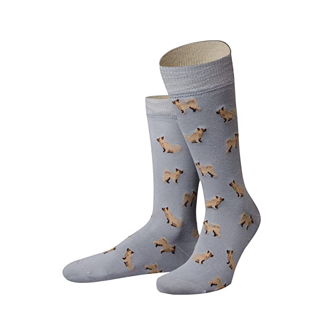 Geschäft wie kommt man 2019 Ausverkauf von Jungfeld - Herren Socken / Design Muster Strumpf Baumwolle 1 Paar  gemusterte Icon Herrensocken viele Farben