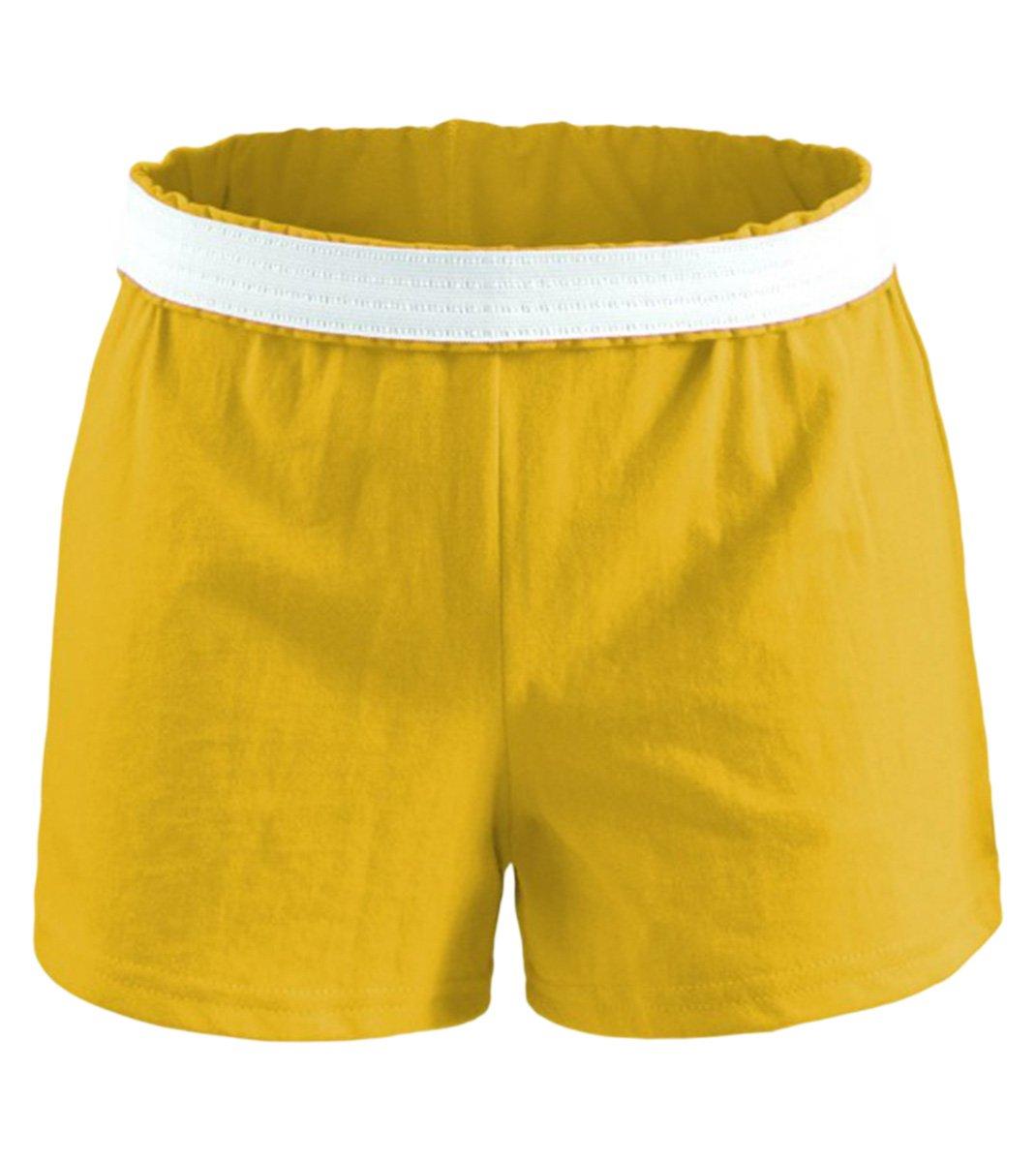 Soffe Juniors' Jersey Short (Gold) (Small)