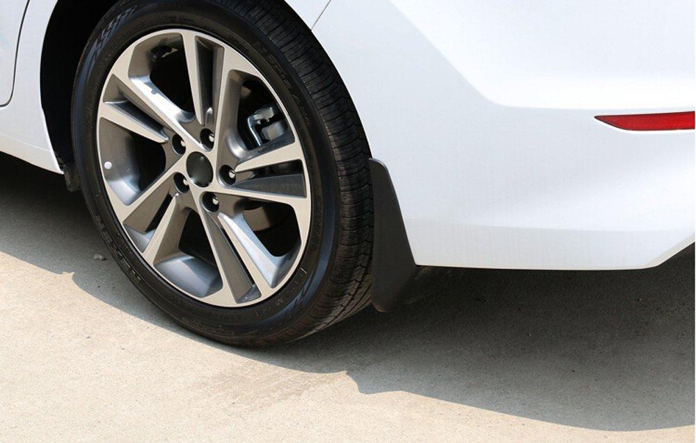 Salusy 4pcs Car Mud Flap Flaps Splash Guard Mudguards For Hyundai Elantra 2017 2018