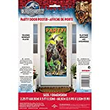 "Plastic Jurassic World Door Poster, 60"" x 27"""
