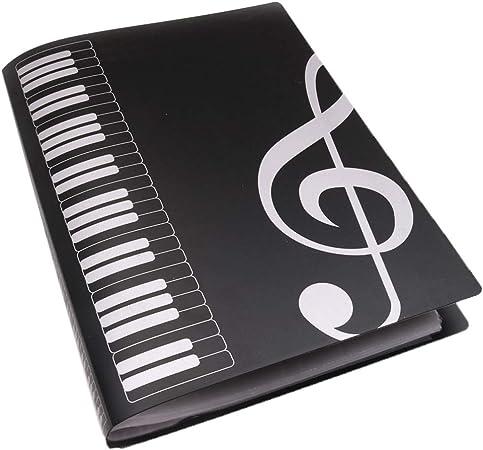 Lucency File Folder Piano Favoritos Para Accesorios De Instrumentos Musicales