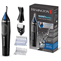 Remington Nano Series NE3870 Tagliapeli Igienico per Naso e Orecchie, Lithium