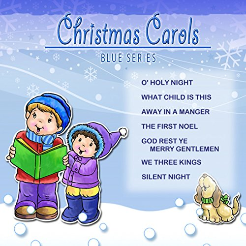 Children's Name Personalized Music CD - My Kids Songs Christmas Carols (Blue Series) - Most Name's Available -