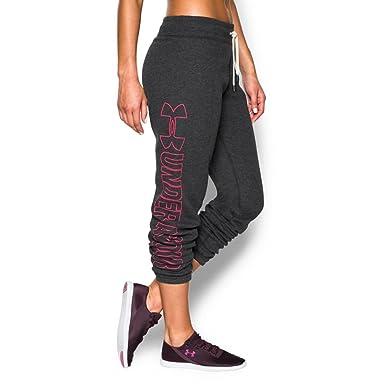 6a734b206e Under Armour Women's Ua Favorite Fleece Boyfriend Pants