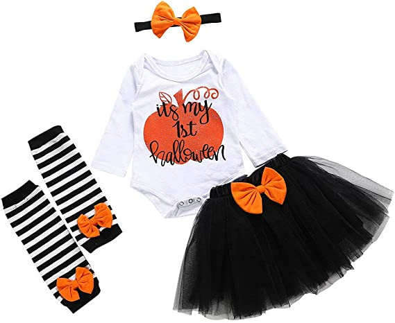 POLP Halloween Disfraz Niñas Tutu Conjuntos Ropa Bebe Niña ...