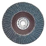 40 Grit 4-1/2'' Diam 5/8-11 Center Hole Type 27 Zirconia Alumina Flap Disc
