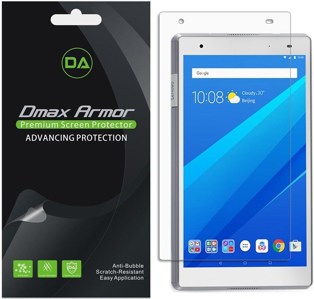 "Dmax Armor Tempered Glass Screen Protector Saver Shield  for Lenovo Tab 4 8/"""
