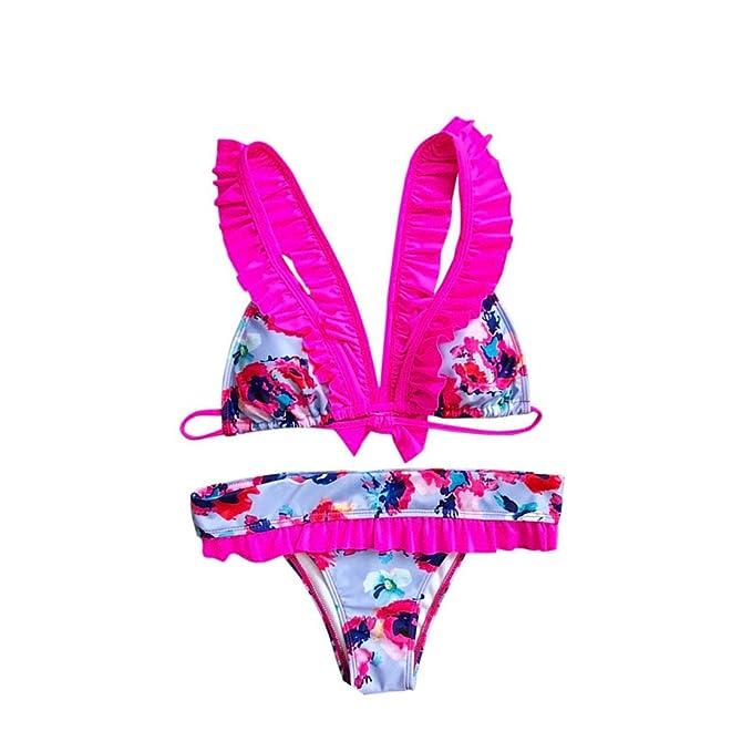 31ac1993db6e ASHOP Bikini de Mujer Traje de baño Bikini Traje de baño para Mujer ...