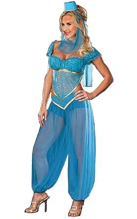 Amazon Com Arabian Costume Women S 2xl Sexy Adult Genie Belly