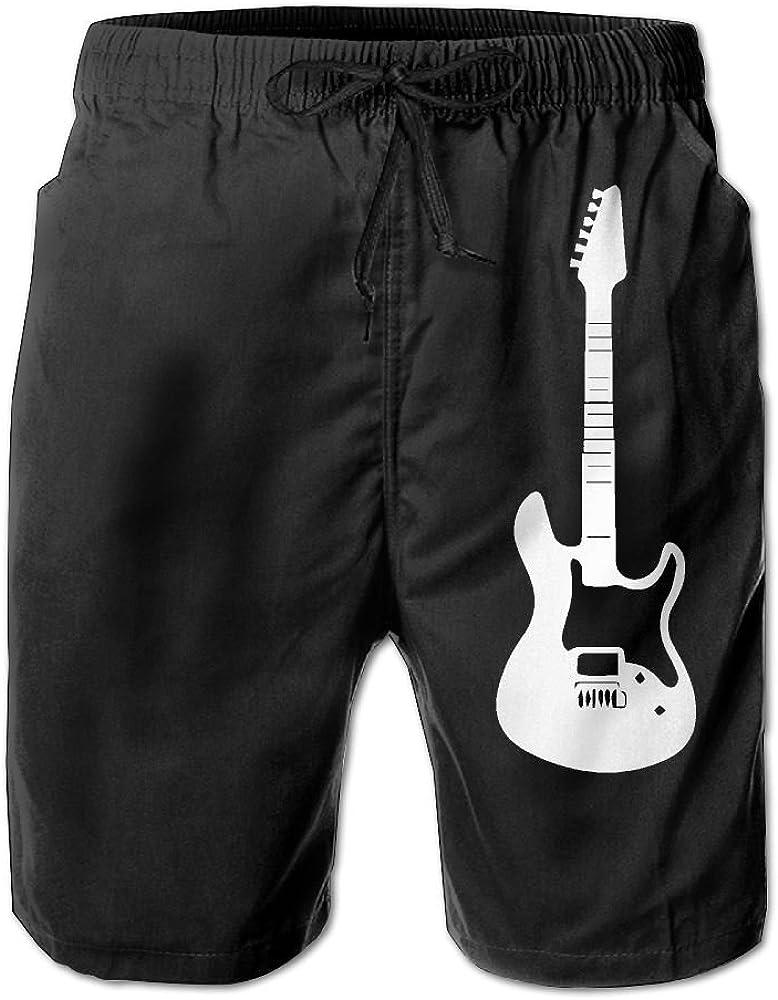 BSKZ@SH Mens Swim Trunks Casual Electric Guitar 100/% Polyester Sports Shorts
