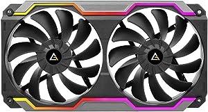 Antec PRIZM Cooling Matrix Single Bracket Dual 120mm Case Fan w/ARGB Strips