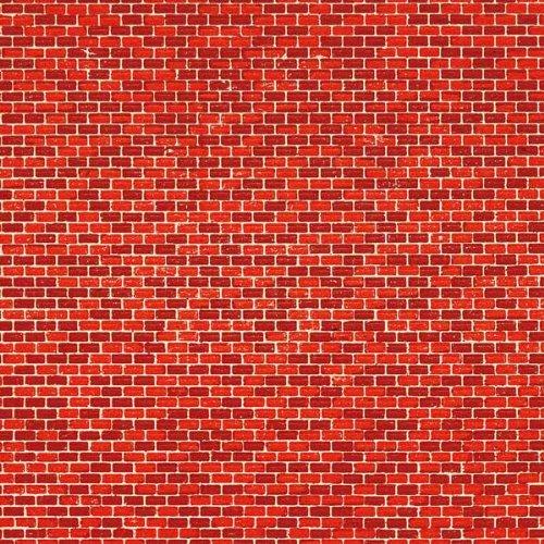1 Pappe Ziegelmauer rot lose Auhagen GmbH 50504
