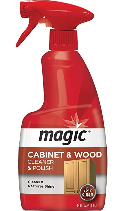 Amazon Com Magic Wood Cleaner And Polish 14 Fluid Ounce