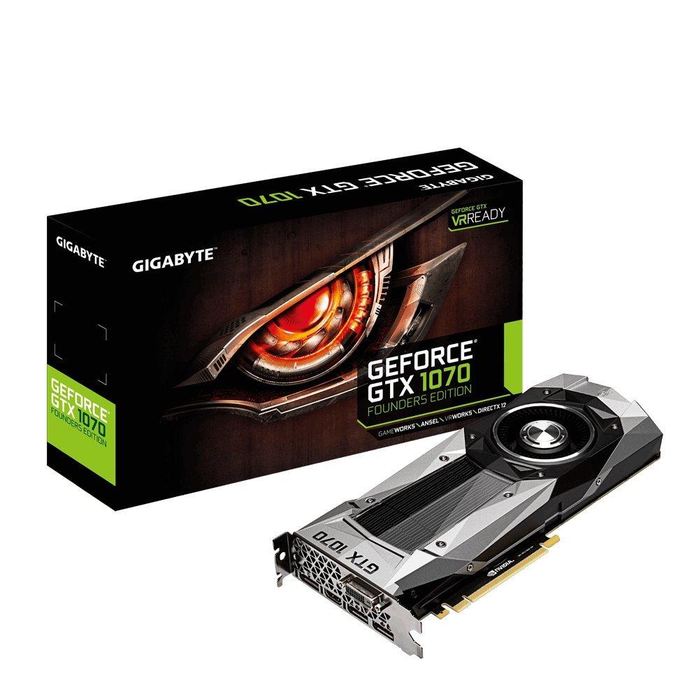 本物 GIGABYTE B01GRS9YMI ビデオカード 1070搭載 NVIDIA GTX GeForce GTX 1070搭載 GV-N1070D5-8GD-B B01GRS9YMI, 鴬沢町:a81edf14 --- ballyshannonshow.com