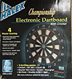 Halex Championship Electronic Dart Board with Cricket