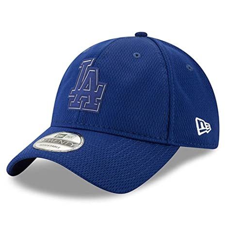 de120ce5386 Image Unavailable. Image not available for. Color  New Era Los Angeles  Dodgers 2019 Clubhouse Collection Adjustable Hat Cap