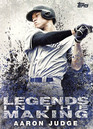 2018 Topps Series 1 Legends in the making - Aaron Judge New York Yankees Baseball Card (Ny Yankees Legend Series)