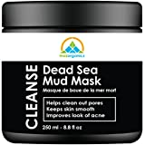 Dead Sea Mud Mask for Skin Cleansing and Moisturizing, Pore Cleansing & Smooth Skin (250g./8.8oz.) (Single)