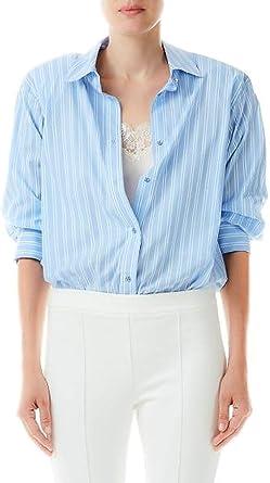 Liu-Jo Camisa de rayas para mujer Body con Top Mujer Mod ...